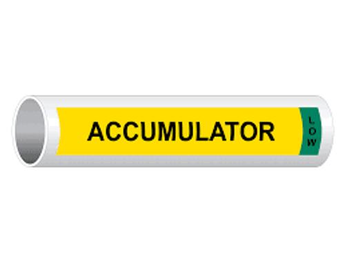 Accumulator Low IIAR Component Marker