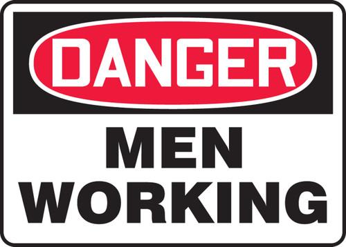 Danger - Men Working