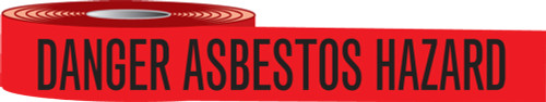 Danger Asbestos Hazard Barricade Tapes
