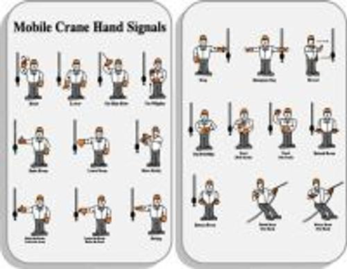 Mobile Crane Hand Signals (wallet Card)