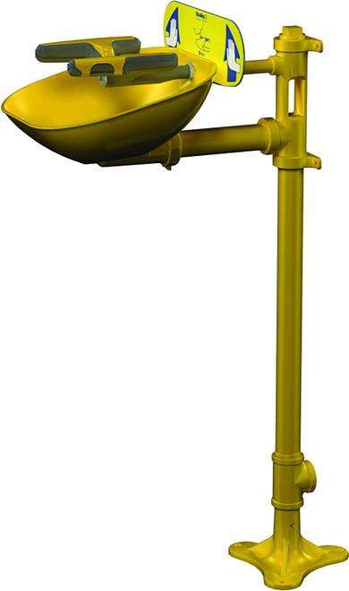 Bradley S19214FW Halo Eyewash Station  Pedestal Mounted