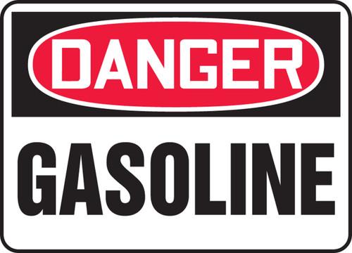 Danger - Gasoline - Adhesive Vinyl - 14'' X 20''
