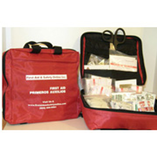 Portable First Aid Kit- Filled
