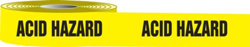 Acid Hazard Barricade Tapes