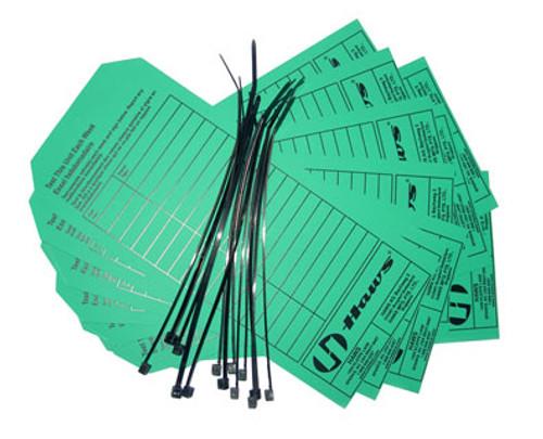 Haws Eyewash Inspection Cards - 25/each pk   Haws eyewash parts