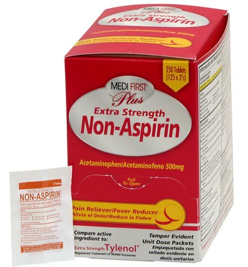 extra strength non aspirin tablet