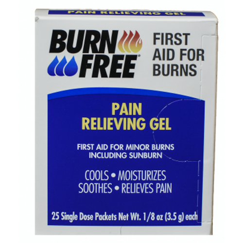 Burn Free Unit Dose Packets 25/box