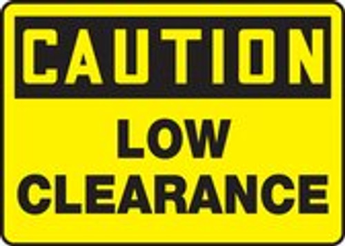 Caution - Caution Low Clearance - Max Alumalite - 36'' X 48''
