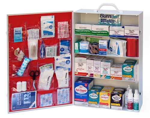 4 Shelf First Aid Kit - Includes Shelf