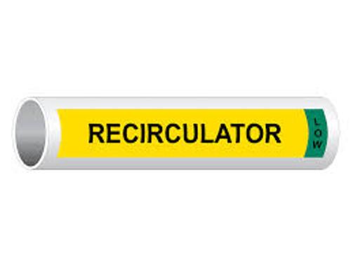 Recirculator Low- IIAR Component Marker