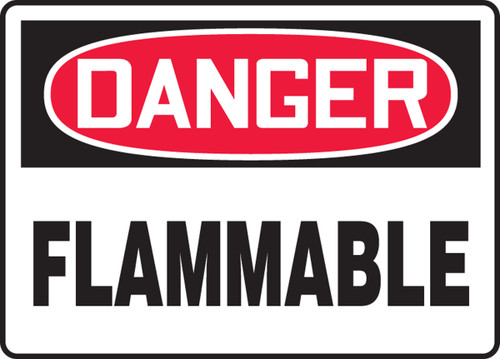 MCHL231XF danger flammable sign