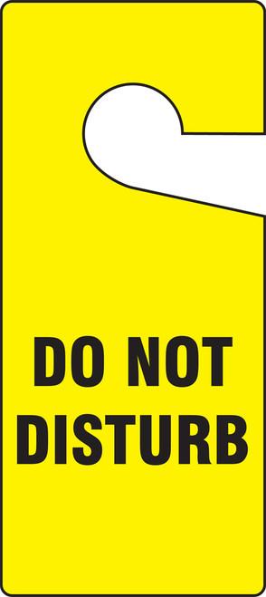 Do Not Disturb Hanger Tag