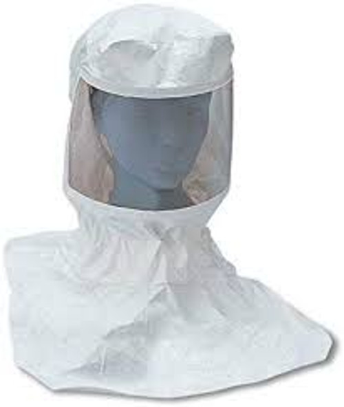 Allegro 9910-10 Replacement Tyvek Supplied Air Respirator Hood w/ Suspension (Low Pressure only)