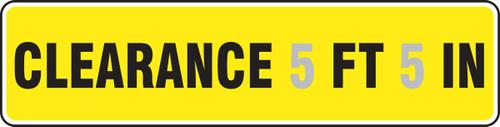MECR632VP Clearance Sign