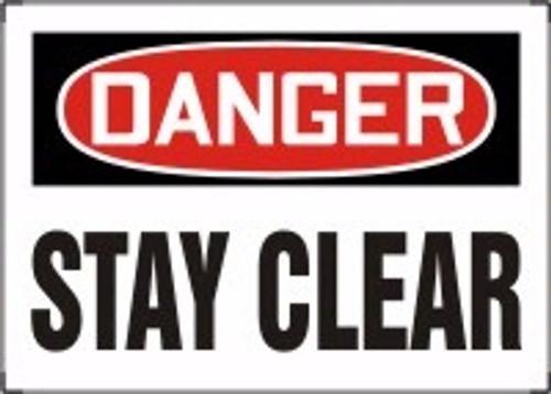 Danger - Stay Clear