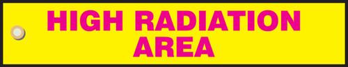 High Radiation Area Sign