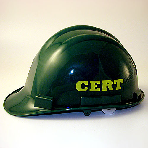 CERT Hard Hat- Community Emergency Response Team (4 Hard Hats)