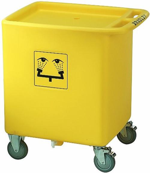 Bradley S19-399 Emergency Eyewash Waste Cart CART ONLY