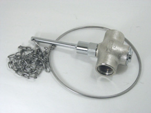 """Speakman Self Closing Valve, 1"""" Female Outlet, Includes Chain and Ring"""