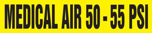 Medical Air 50 - 55 Psi