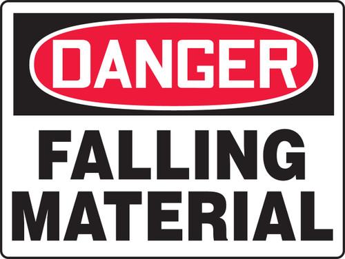 Danger Falling Material