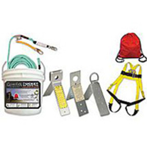 Bucket of Safe Tie Kit: w/ 3 SS Reusable Anchors