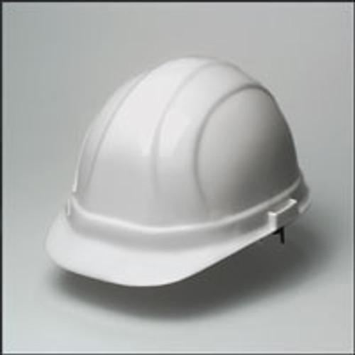 Hard Hat  w/ 6 Point Suspension- White Hard Hat