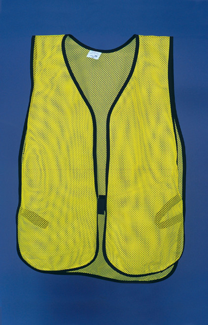 Safety Vest- Plain Fluorescent Yellow/green