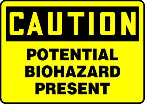 Potential Biohazard Present