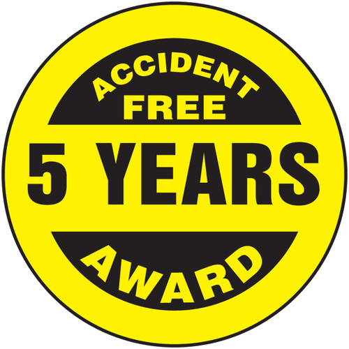 Accident Free Award 5 Years