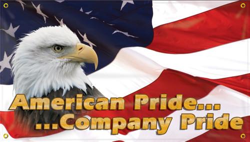 American Pride Company Pride Safety Banner