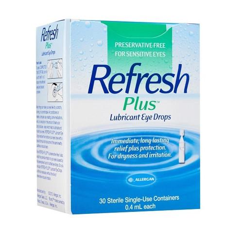 refresh plus eye drops