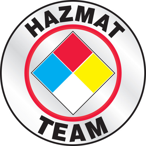 Hazmat Team Helmet Sticker
