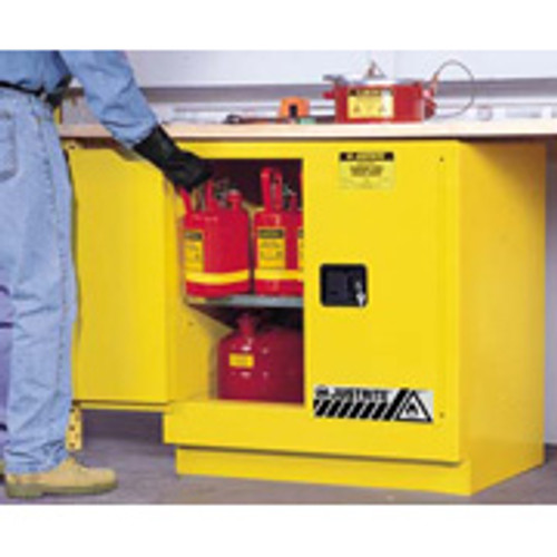 Justrite Undercounter Safety Cabinet 22 gal. Manual