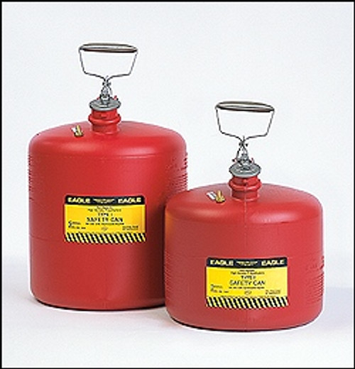 Eagle Type I Poly Safety Can RED 5 Gallon