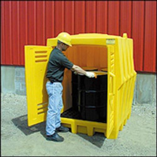 Eagle 4 Drum Poly Storage Building