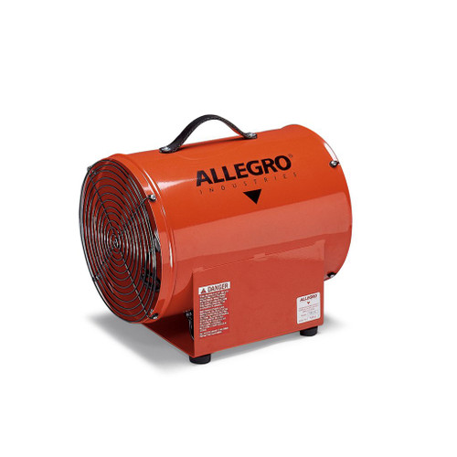 "Allegro 9509-01 12"" Axial Explosion-Proof (EX) Metal Blower"