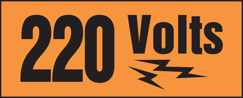 220 Volts (w/graphic)