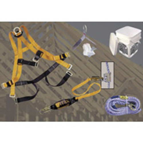 Titan Ready Roofer Fall Protection System w/50 ft. rope