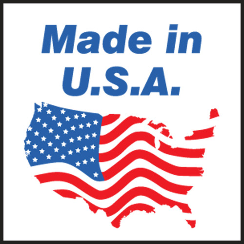 Made In U.S.A. Shipping Label