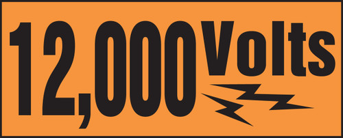 12,000 Volts (w/graphic)