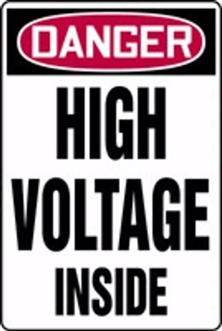 Danger - High Voltage Inside