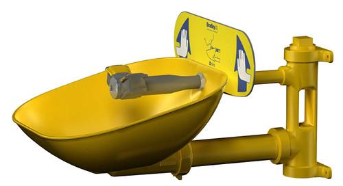 Bradley S19224EW Eyewash Station Halo Wall Mount Plastic Bowl