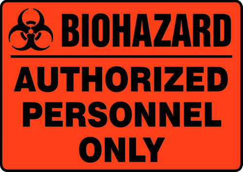 Biohazard Authorized Personnel Only (W/Graphic)