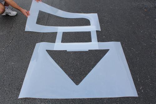 "Arrow Kit  (34""h X 42""w Straight +  48"" X 48"" Turn)"