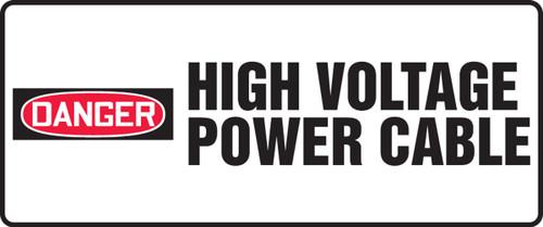 High Voltage - Adhesive Vinyl - 7'' X 17''