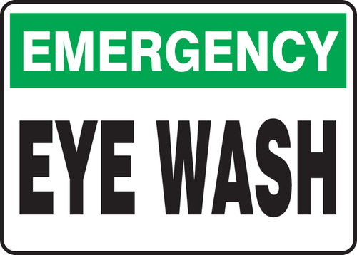 Emergency Eye Wash - Plastic - 10'' X 14''