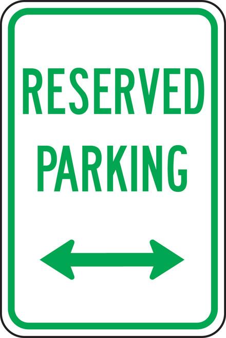 Reserved Parking Sign 1