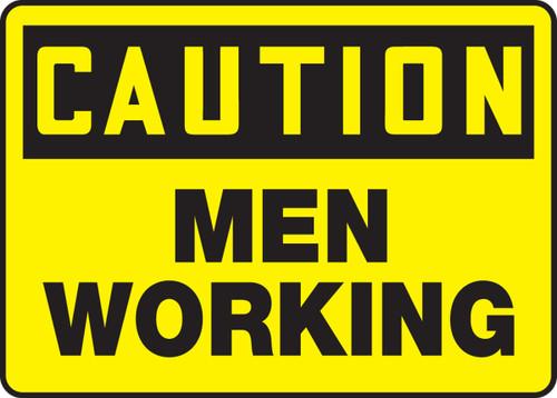 Caution - Men Working
