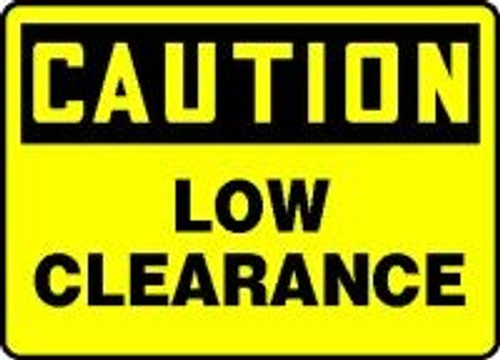 Caution Low Clearance 1
